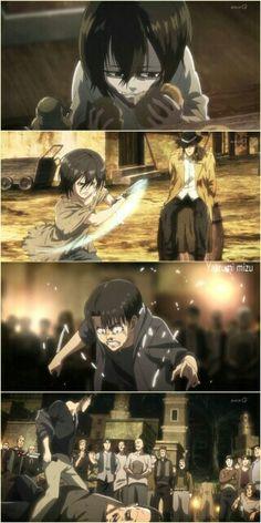 Anime Demon, Manga Anime, Anime Art, Attack On Titan Season, Attack On Titan Anime, Eren E Levi, Armin, Angel Of Death, Levi Squad