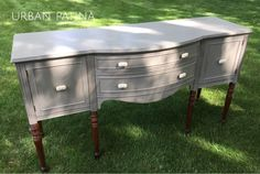 Urban Patina: Buffet refresh with Annie Sloan Chalk Paint