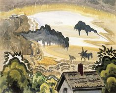 Intercepted by Gravitation | Charles Burchfield