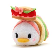 Picnic basket Daisy (dressed as a sandwich) Tsum Tsum Sets, Disney Tsum Tsum, Disney Mickey, Disney Pixar, Disney Christmas, Christmas Wishes, Donald And Daisy Duck, Tsum Tsums, Disney Figurines