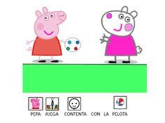 """El cuento """"Cosas de amigos"""" de Peppa Pig nos muestra, de forma adaptada con pictos de ARASAAC una aventura de esta entrañable cerdita. La presentación es un .pptx"""
