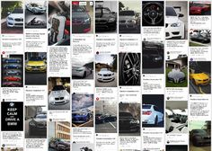 Even though your brand might not be active on Pinterest, your content certainly is. BMW for example has more than a million followers on Instagram, but they don't even have an official Pinterest profile. The story doesn't end there though, because a quick Pinterest search reveals thousands of images devoted to their brand.