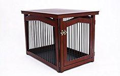 #dog Crate Furniture #dog Crate End Table #decorative Dog Crates #furniture  Dog