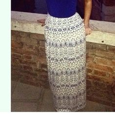 Maxi skirt Cynthia Rowley. Size small. Worn once Cynthia Rowley Skirts Maxi