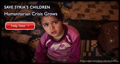 Save the Children - Syrian Children in Crisis