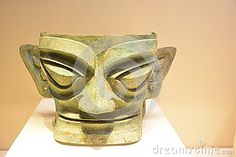 The ancient bronze mask is 3600 years ago the manufacturing, now preserved in the National Museum. China unearthed in Sichuan province and the Guanghan Sanxingdui. We can see that the outstanding achievement of the ancient people in Chinese metallurgical casting technology.