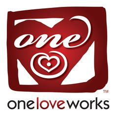 One Love Works™ logo. Designed by Buggsy Malone and Abba Yahudah of GOT Brand Solutions™, Emeryville, CA. First Love, Logos, Red, Design, First Crush, Logo, Puppy Love
