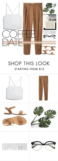 """""""Solitude and loneliness are two different things.  © Good doctor"""" by holy-k17 ❤ liked on Polyvore featuring MANGO and 3.1 Phillip Lim"""