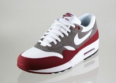 on sale 5f988 a4d71 Nike Air Max 1 Essential (TEAM RED   WHITE - PETRA BROWN - BLACK)