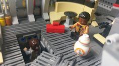 Lego Falcon, Amazing Lego Creations, Lego Models, Millennium Falcon, Lego Star Wars, Legos, Geek Stuff, Stars, Ideas