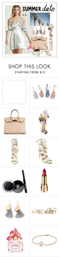 """Smokin' Hot: Summer Date Night"" by grachy ❤ liked on Polyvore featuring Menu, Hermès, Memo Paris, Steve Madden, Chanel, Dolce&Gabbana, GUESS, Marc Jacobs and David Yurman"