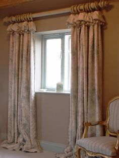 cottage curtain headings - Google Search