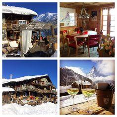 Chez Vrony A Findeln au-dessus de Zermatt  www.chezvrony.ch