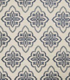 Jaclyn Smith Upholstery Fabric-Accurate/Indigo