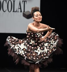 Atenção chocólatras! Não vale comer a roupa! Salon du Chocolat de Paris!