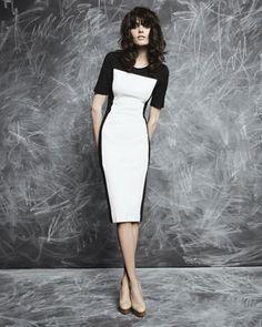 Stella McCartney Colorblock Jersey Dress - Neiman Marcus