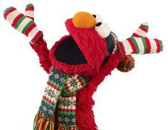 Elmo loves winter!