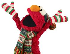 Elmo loves winter!