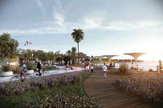 Galería - Primer Lugar en concurso urbano para La Barra / Uruguay - 4