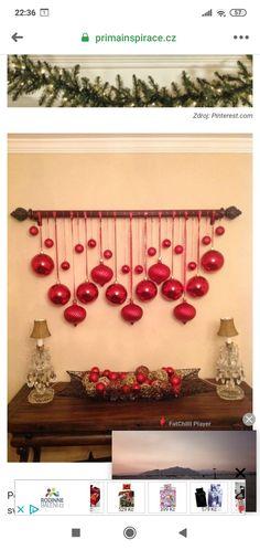 Ornament Wreath, Ornaments, Kawaii, Wreaths, Home Decor, Decoration Home, Door Wreaths, Room Decor, Christmas Decorations