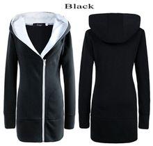 Nueva Moda 2014 abrigo de invierno cálido Fleece Sudadera Mujeres Casual cremallera sudaderas con capucha Prendas de abrigo señoras de las mujeres Escudo 2021 Jacket(China (Mainland))