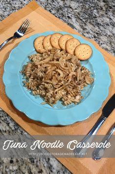 Tuna Noodle Casserole (Food Storage Recipe)