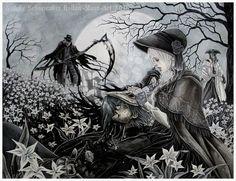 Bloodborne - Let go FINISHED by Hollow-Moon-Art.deviantart.com on @DeviantArt