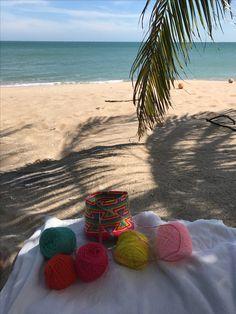 Sea,crochet,sun...happy 2017