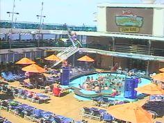 Carnival Dream Deck Aft Webcam Camera Lanes Cruise - Cruise ship live webcams