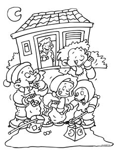 coloring page St. Maarten on Kids-n-Fun. At Kids-n-Fun you will always find the nicest coloring pages first! Rainy Day Activities, Cool Coloring Pages, My Roots, Young Ones, Fairy Tales, Saints, November, Halloween, My Favorite Things