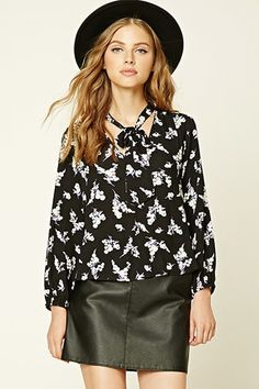 FLORAL TOP   Forever 21