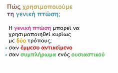 Geniki Ptosi Math Equations