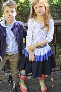 What to Wear to 2nd & 3rd Grade   |   Design Mom - Would be so cute on Samuel, except probably not the shoes.