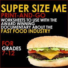 super size me rhetorical analysis Rhetorical analysis: supersize me in the informative documentary, supersize me, morgan spurlock investigated if a fast food restaurant, in particular mcdonalds, was the main reason for obesity because of the unhealthy food they serve.