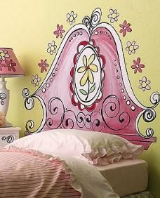 Painted Headboard Ideas save money with a faux painted headboard | faux headboard