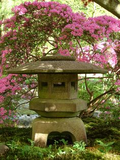 japanese garden, lots off colours and smells