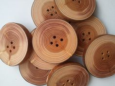 56cm Larch buttons by CottageCoppicing on Etsy, £0.70