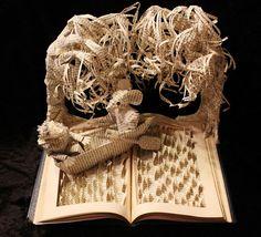 Increíbles esculturas hechas con libros viejos por Jodi Harvey-Brown | FURIAMAG | Visibilizamos - Inspiramos - Conectamos