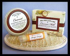 Coconut Milk Gift Set  Birthday Thank You  Soap by BellaFresca
