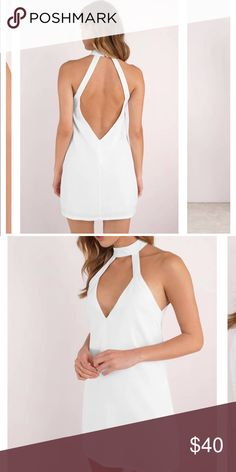 White dress Basic white dress Tobi Dresses