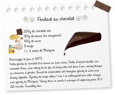 Recette d un gâteau au chocolat