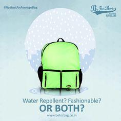 Water repellent bags to keep your essentials safe #beforbag #waterrepellent #schoolbags #backpacks #monsoonbags #bags