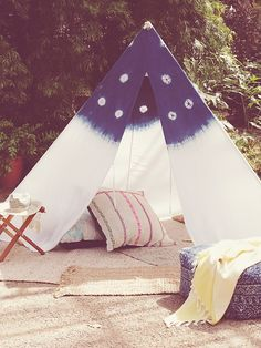 Ginger and Gilligan for Free People Northern Sky Tent