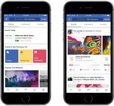 Verbesserter Events-Bereich in der Facebook App (Quelle: Facebook)
