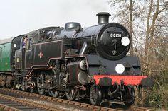 Bluebell Railway 'Branch Line Weekend' British Railways Standard class 4 steam tank engine @ Sheffield Park