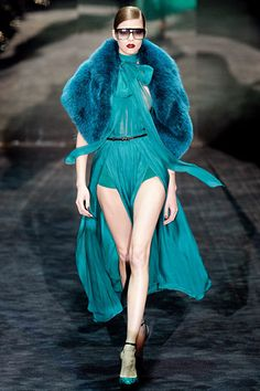 Gucci fall 11 - just too fabulous for words