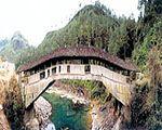 Dongxi Bridge, Taishun in Zhejiang, China. Google Image Result for http://www.china.org.cn/images/15509.jpg