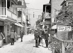 Ice Cream! On St. George Street! Circa 1908