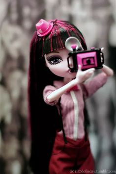 Draculaura - Monster High  on We Heart It