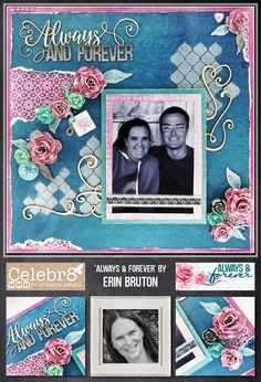 Always & Forever Limited Collection, Always And Forever, Scrapbooking Layouts, Collections, Crafts, Wedding, Valentines Day Weddings, Manualidades, Scrapbook Layouts
